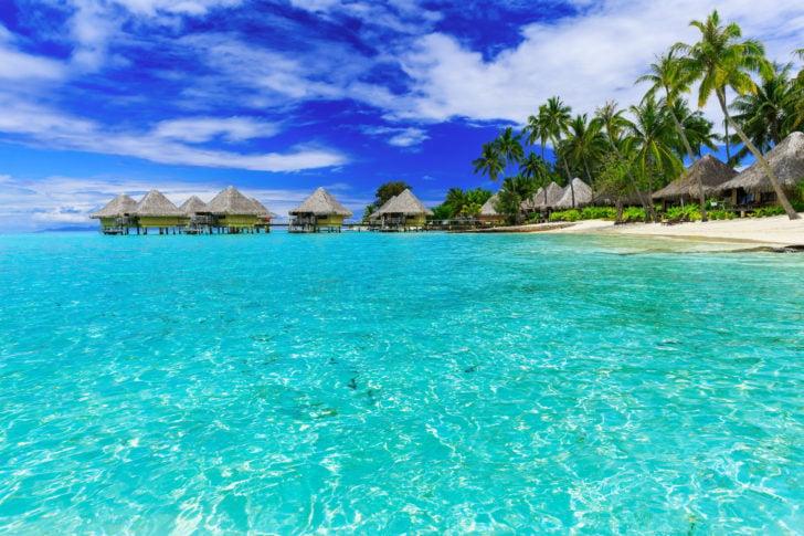 Bora Bora en Polynésie