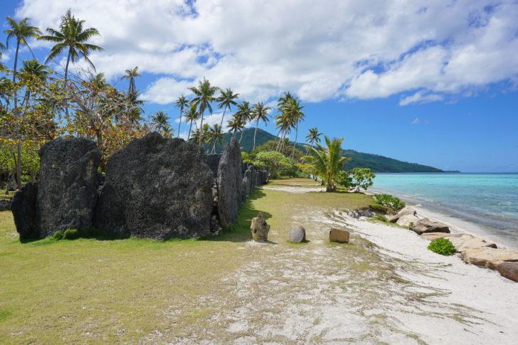 Huahine en Polynésie