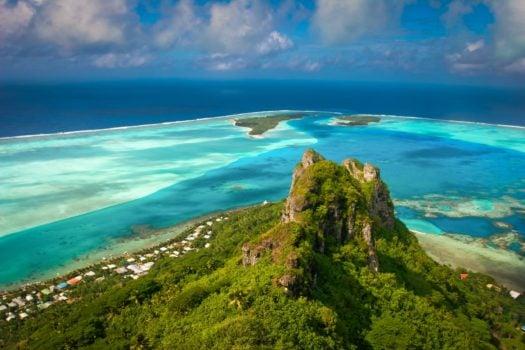 Maupiti en Polynésie