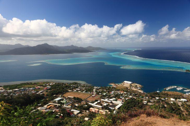 Raiatea en Polynésie