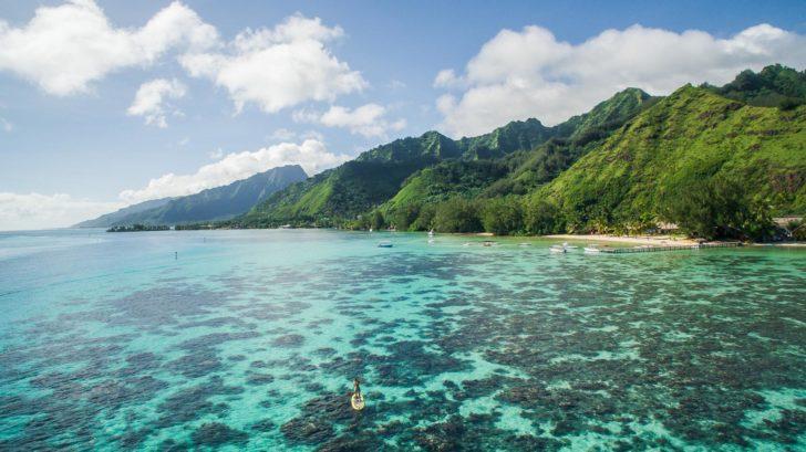 Tahiti en Polynésie
