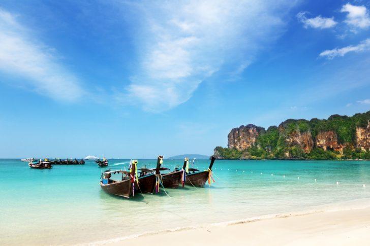 La baie d'Ao Nang en Thaïlande