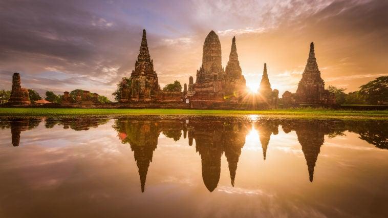 Ayutthaya en Thaïlande