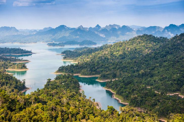 Le parc de Khao Sok en Thaïlande