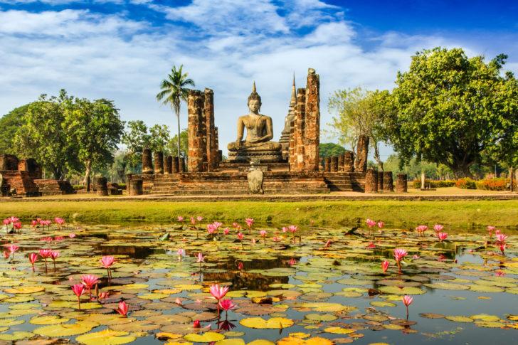 Sukhothaï en Thaïlande