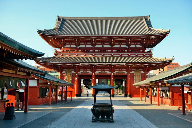 Sensô-ji à Tokyo
