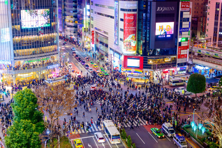 Shibuya à Tokyo