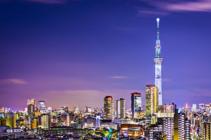 Skytree à Tokyo