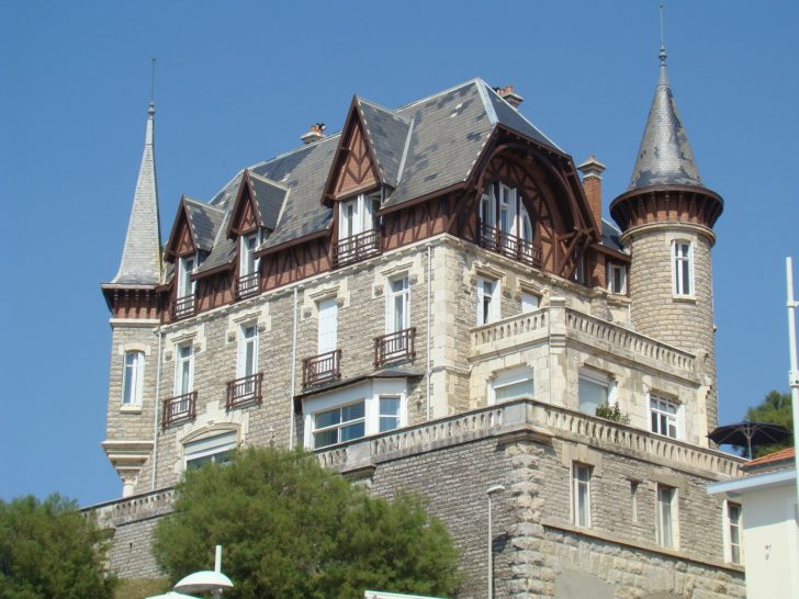 Les belles demeures à Biarritz