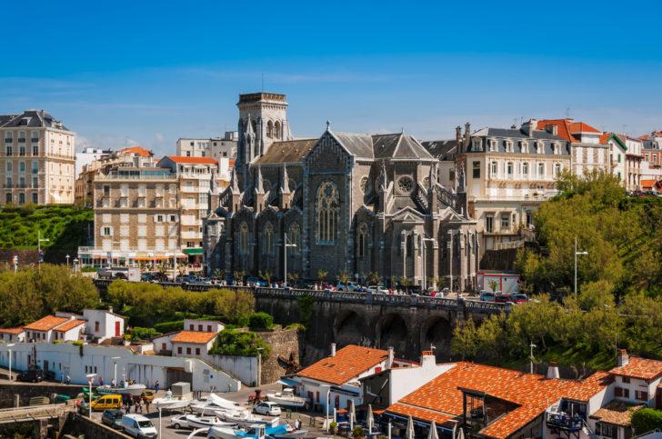 L'église Sainte-Eugénie à Biarritz