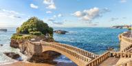 Le Rocher du Basta à Biarritz