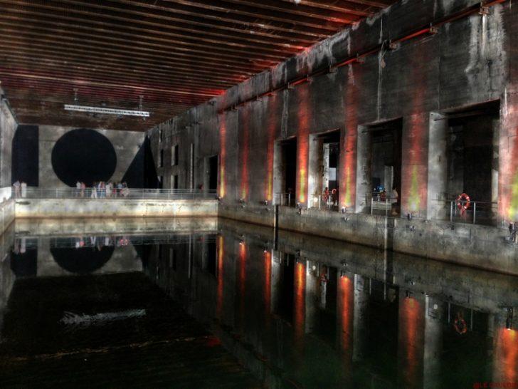 La Base sous-marine à Bordeaux