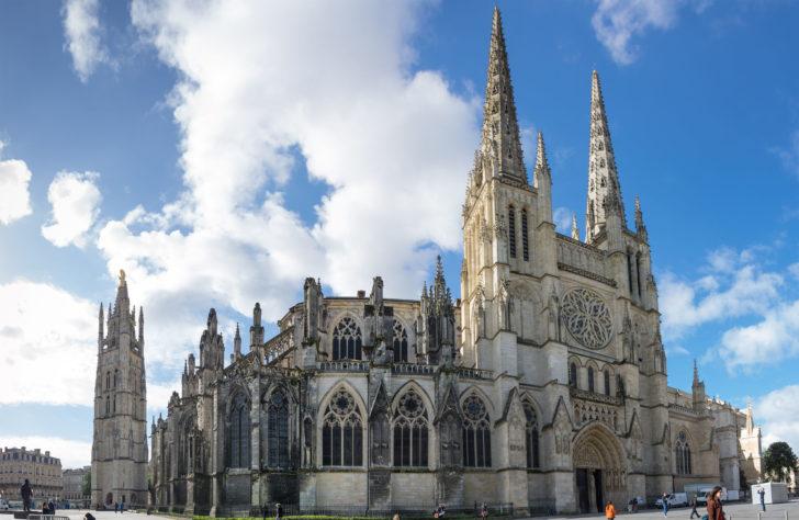 La cathédrale Saint-André à Bordeaux