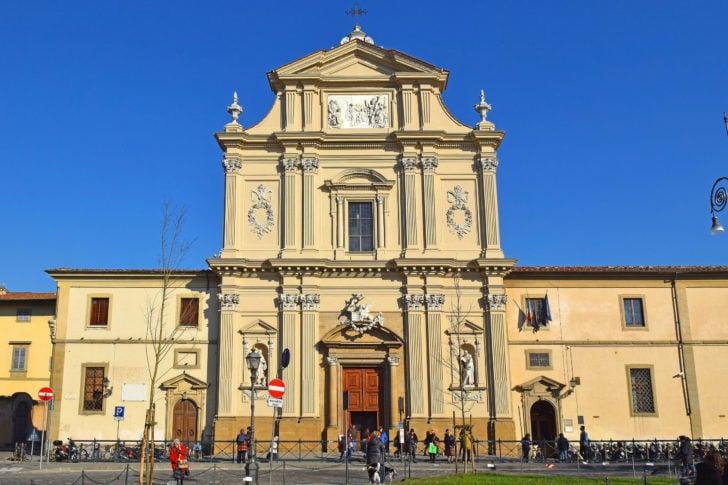 La basilique San Marco à Florence