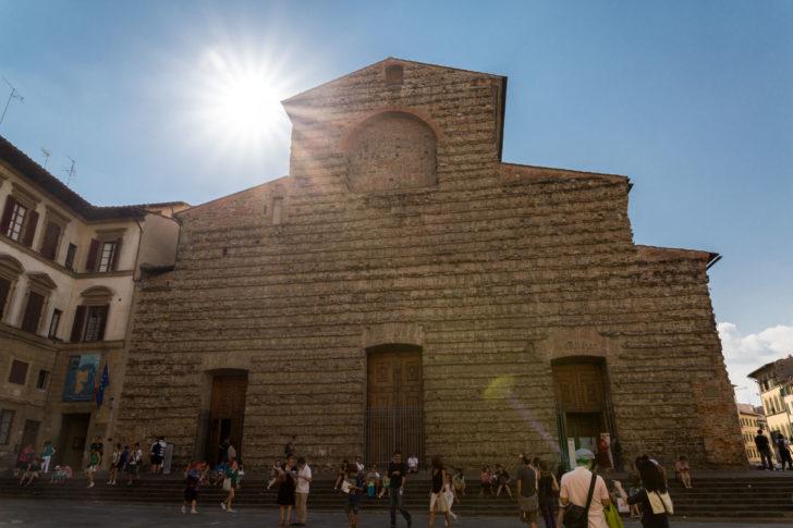 L'église San Lorenzo à Florence