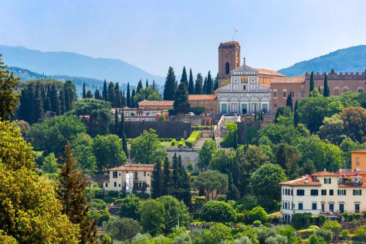 L'église San Miniato al Monte à Florence