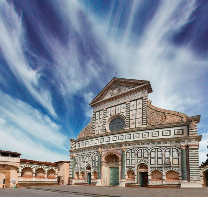 L'église Santa Maria Novella à Florence