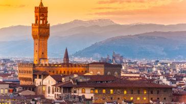 La Palazzo Vecchio à Florence