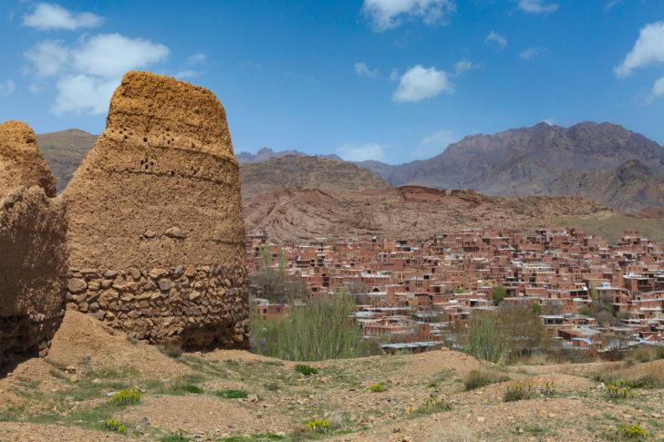 Abyaneh en Iran