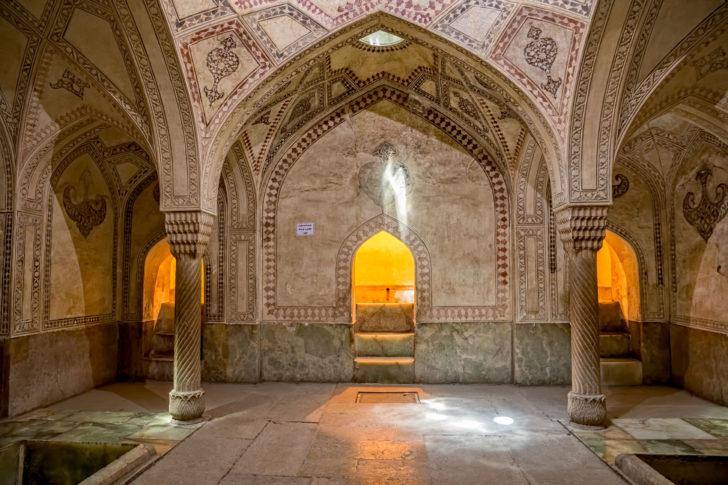 La citadelle de Karim Kahn en Iran