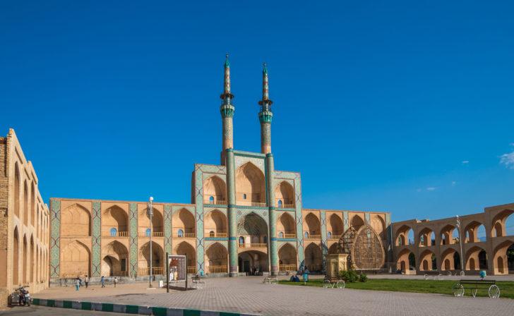 Le complexe Amir Chakhmaq en Iran