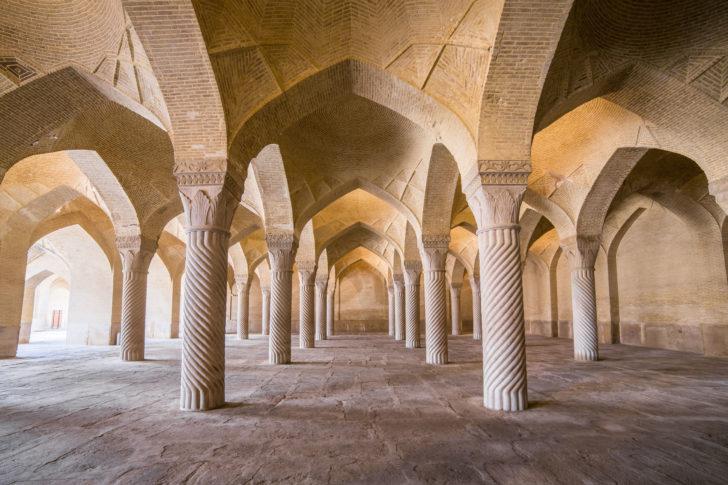 La mosquée Vakil en Iran