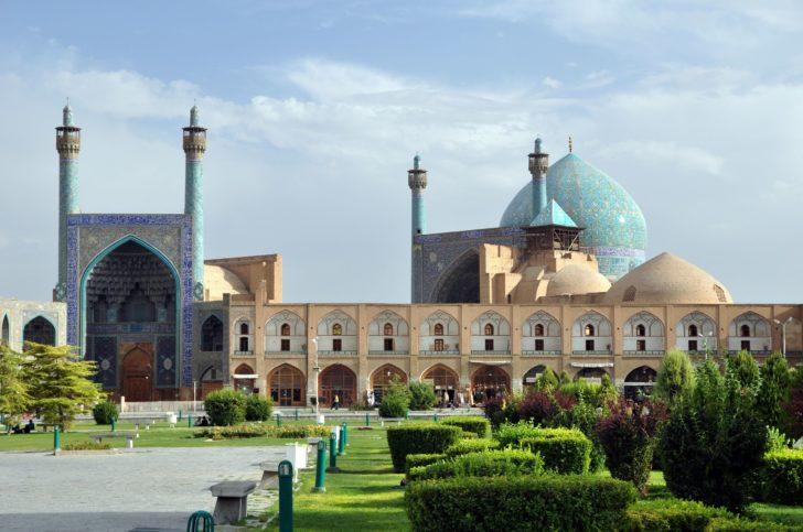 La mosquée Sheikh Lotfollah en Iran
