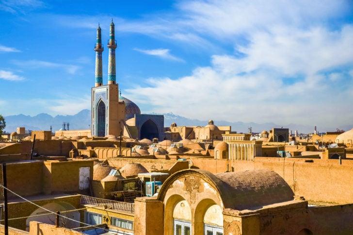 La mosquée du vendredi en Iran