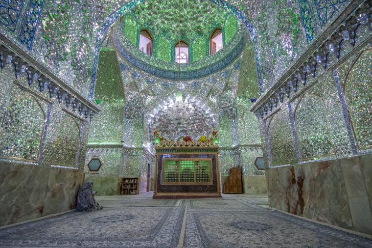 Le sanctuaire d'Ali Ibn Hamza en Iran