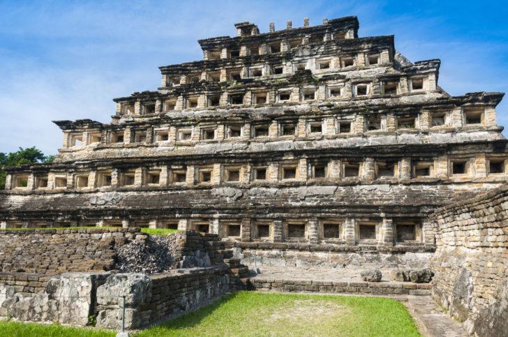 El Tajin au Mexique
