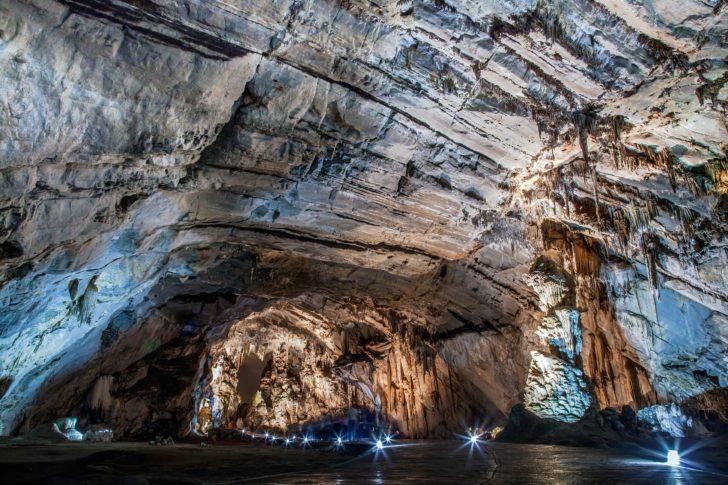 Grottes de Cacahuamilpa au Mexique