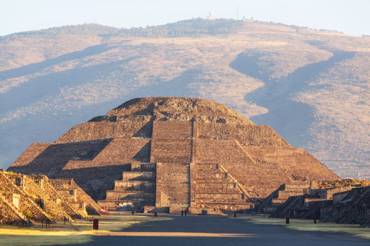 Teotihuacan au Mexique