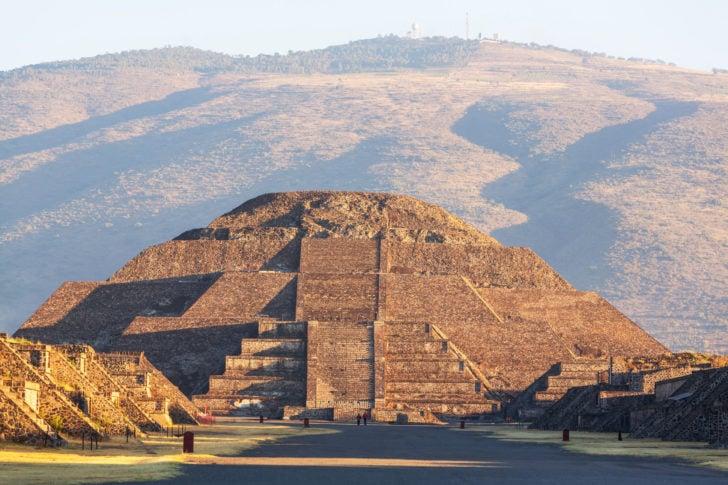 Teotihuacan au Mexique