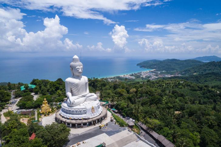Big Buddha à Phuket