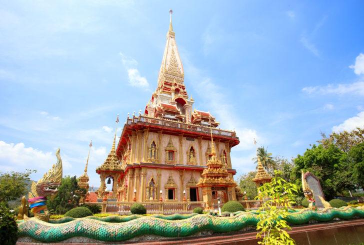 Wat Chalong à Phuket