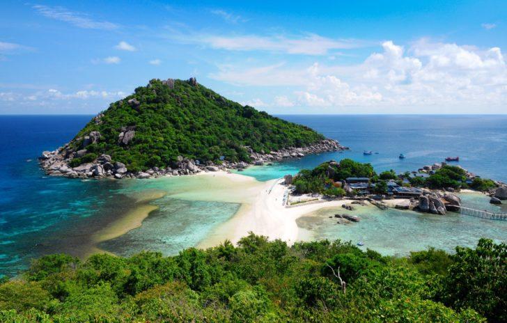Koh Nang Yuan en Thaïlande