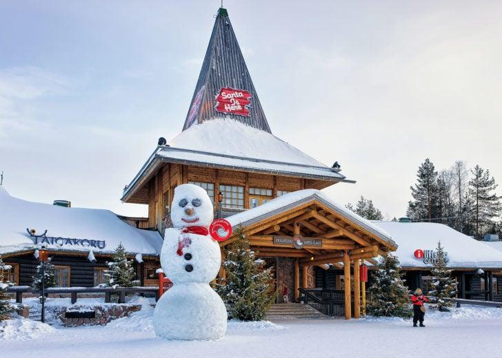 Rovaniemi, le village du Père Noël, en Laponie
