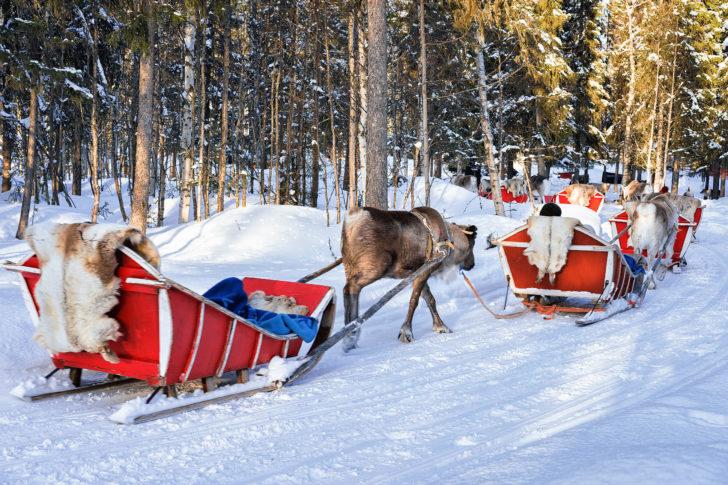 Noël en Laponie