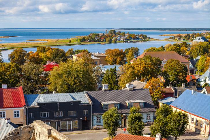 Haapsalu en Estonie, Pays baltes