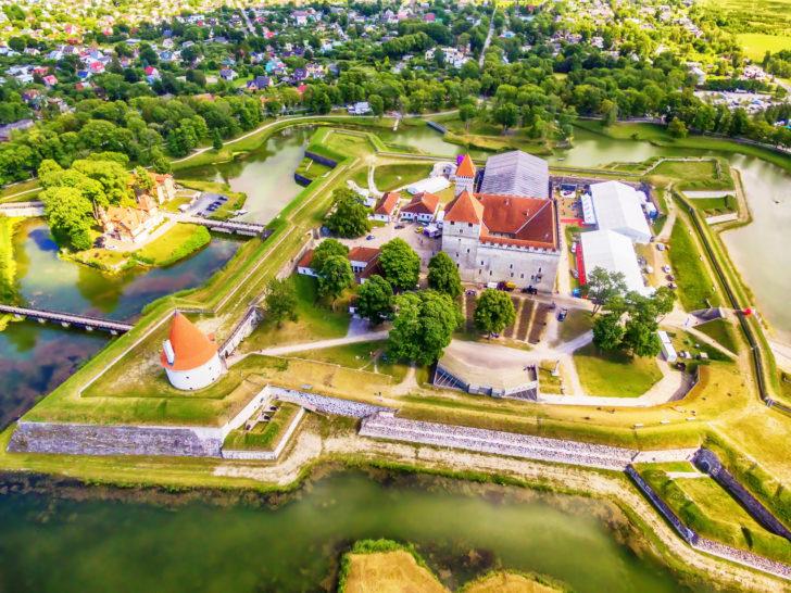 Ile de Saaremaa en Estonie, Pays baltes