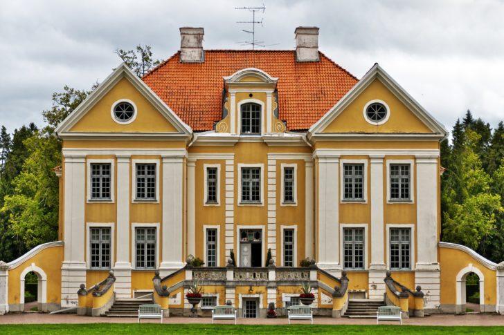 Le manoir de Palmse en Estonie, Pays baltes