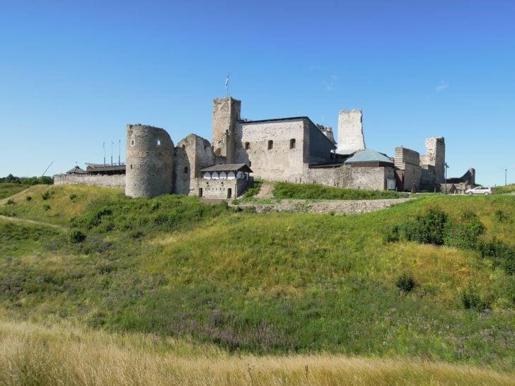 Le château de Rakvere en Estonie, Pays baltes