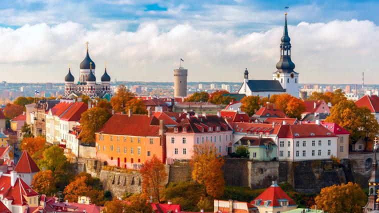 Tallinn capitale de l'Estonie, Pays baltes