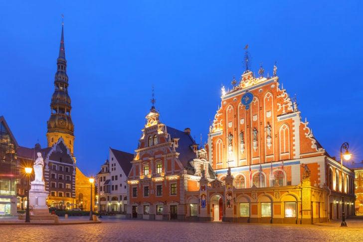 Riga capitale de Lettonie, Pays baltes
