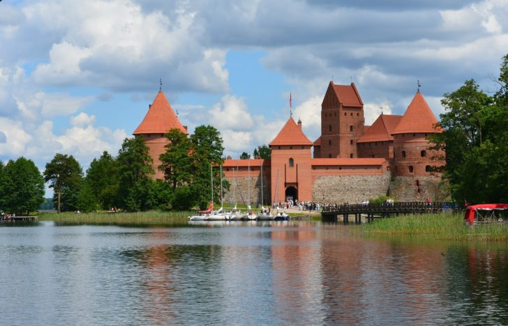 Trakai en Lituanie, Pays baltes