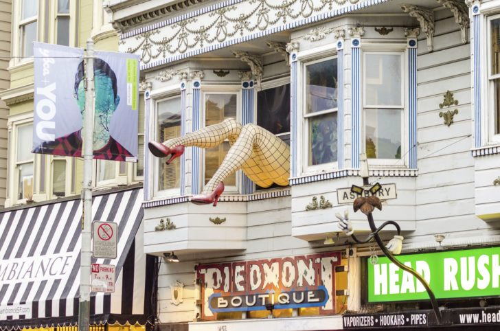 Quartier de Haight-Ashbury à San Francisco