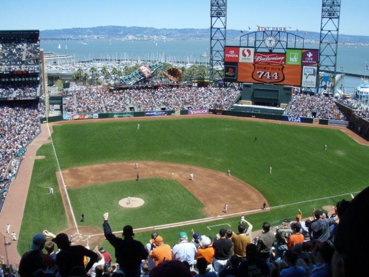 Stade AT&T Park à San Francisco