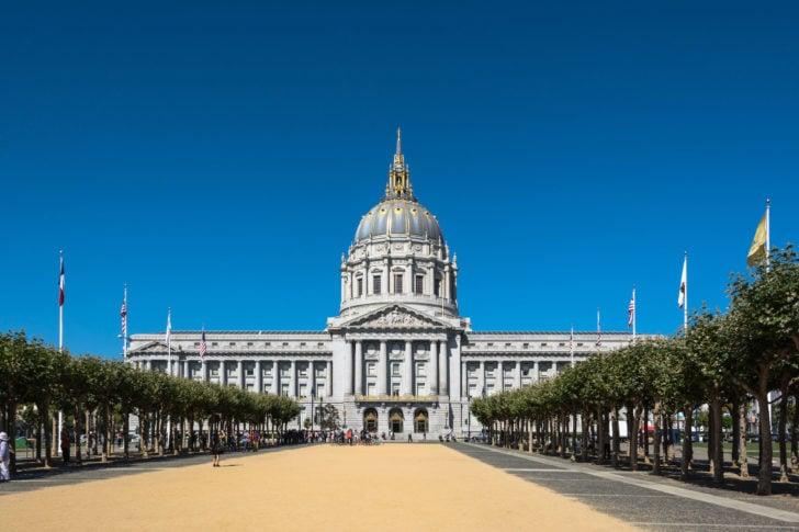 L'Hôtel de Ville de San Francisco
