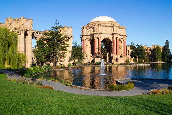 Palais des Beaux-arts à San Francisco