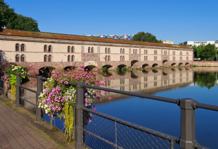 Le barrage Vauban à Strasbourg